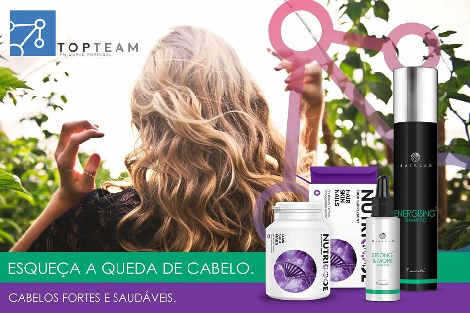 Esta combinação de produtos Hairlab e Nutricode, da FM World, vai parar imediatamente esse incómodo e trazer todo o esplendor ao seu cabelo!