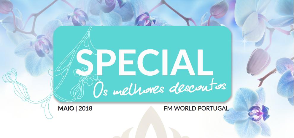 Veja o Catálogo Especial Fm WORLD Portugal de Maio 2018