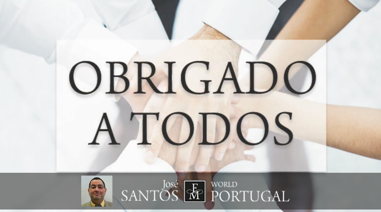 José Santos FM WORLD Portugal - Obrigado